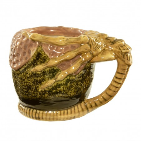 Mug 3D Alien Facehugger