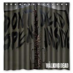 Walking Dead rideau de douche Dead Inside