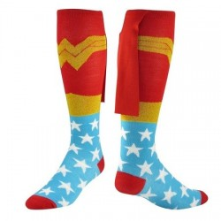 Chaussettes Wonder Woman cape
