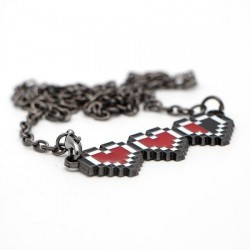Collier Pixel Heart Lifebar