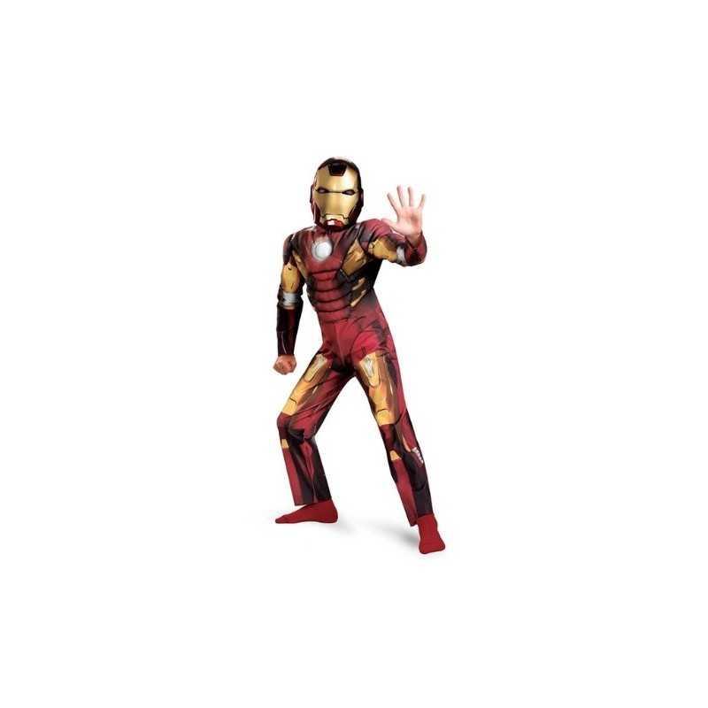 Costume Iron Man Avengers deluxe enfant