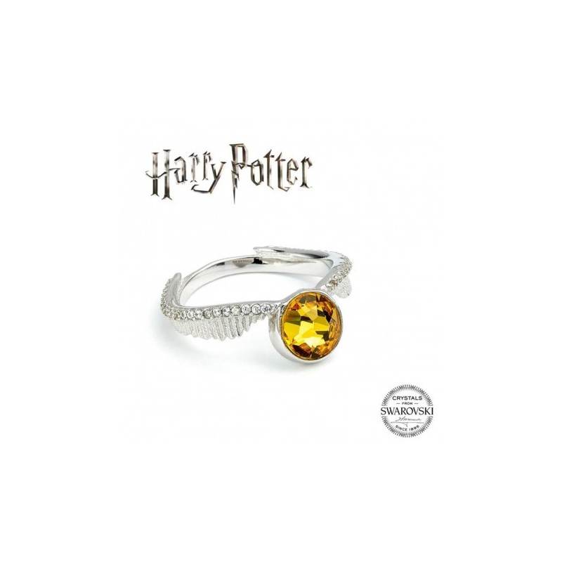 Bague Harry Potter Swarovski Golden Snitch