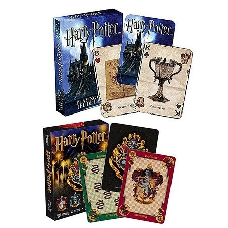 Jeux de 52 Cartes Harry potter playing cards