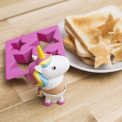 Set Coquetier Licorne Coupe toast