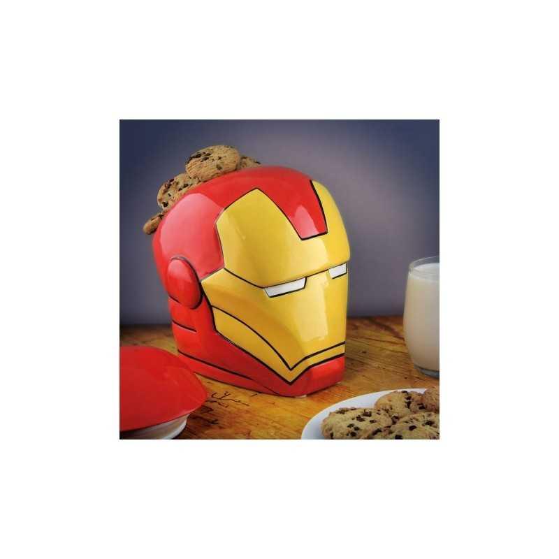 Bocal à cookies Iron Man