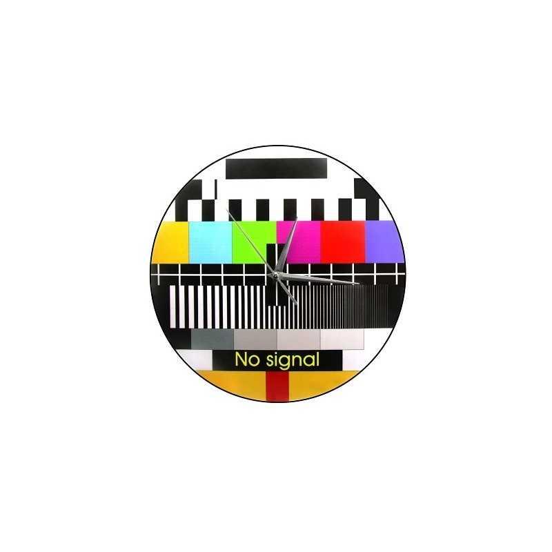 Horloge murale mire TV