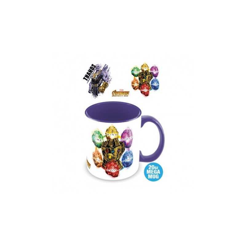 Mug Géant Thanos Pierres de l'Infini