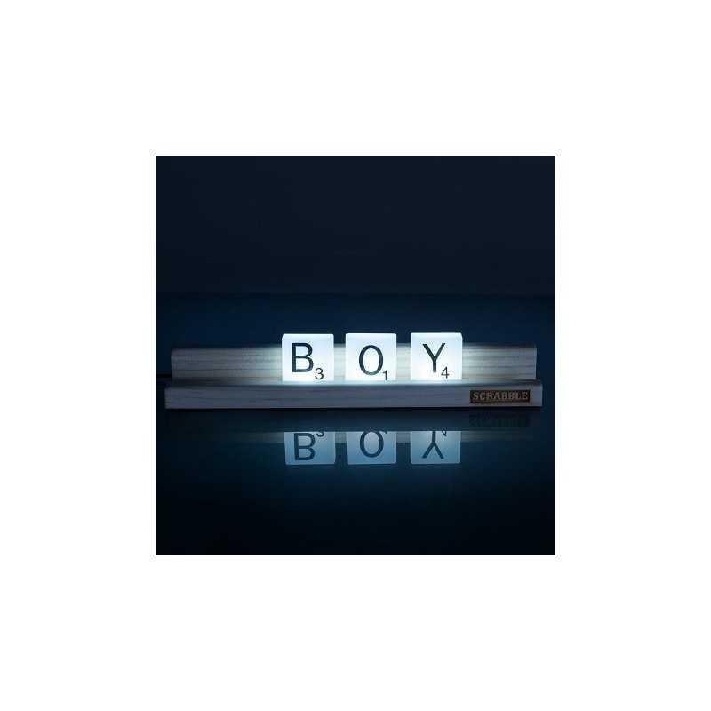 Lampe Scrabble