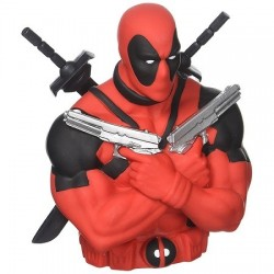 Tirelire Deadpool Double Gun