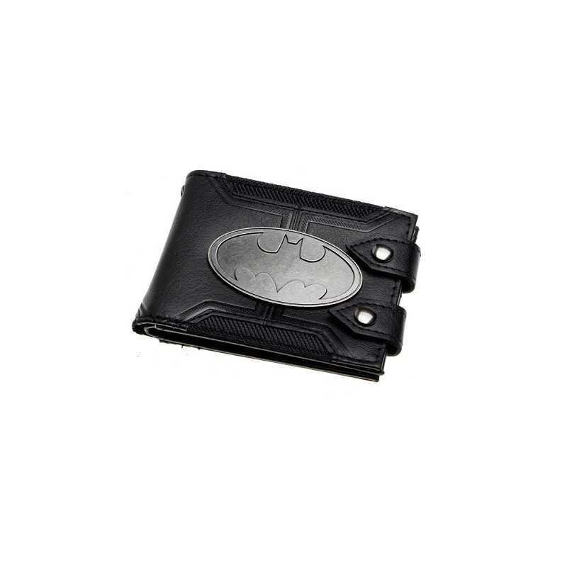 Portefeuille Batman Métal Logo