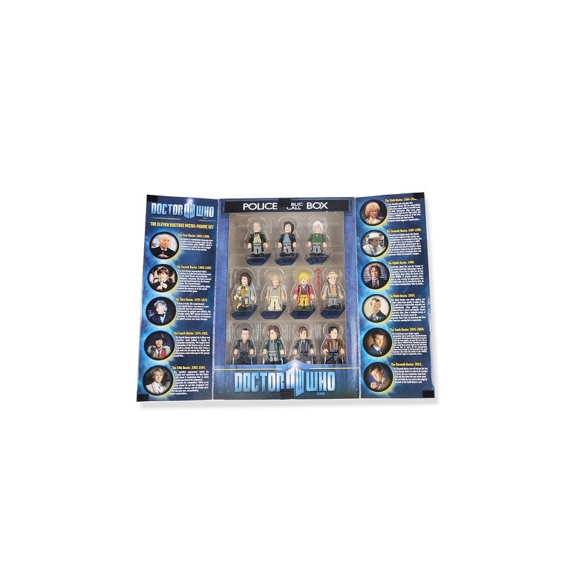 Micro Figurines 11 Docteurs de Doctor Who