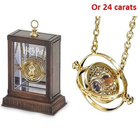 Retourneur de Temps Collier Harry potter