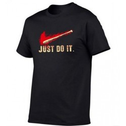 T-Shirt Walking Dead Negan just do it