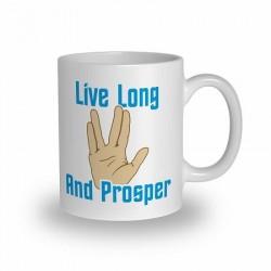Mug Salut Vulcain Spock Star Trek