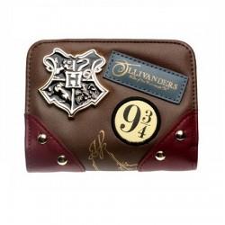 Portefeuille Harry Potter Insigne Hogwarts Ollivanders