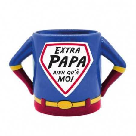 Mug 3D Super Héros Extra Papa