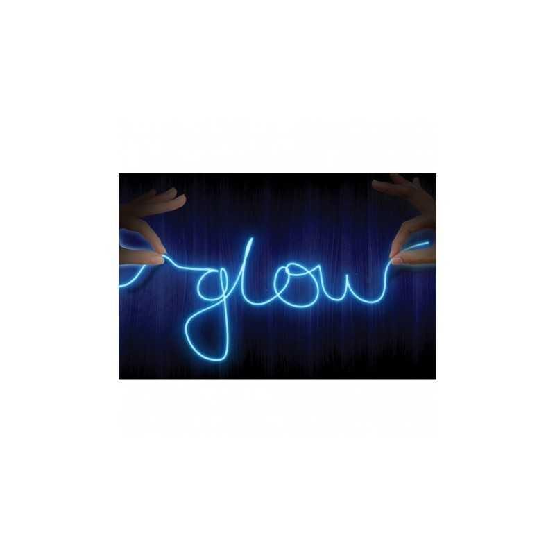 Fil Neon Bleu Lumineux
