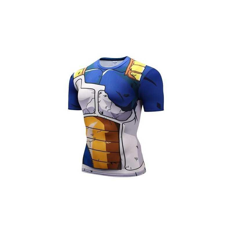 T-Shirt Vegeta Armure Cassée