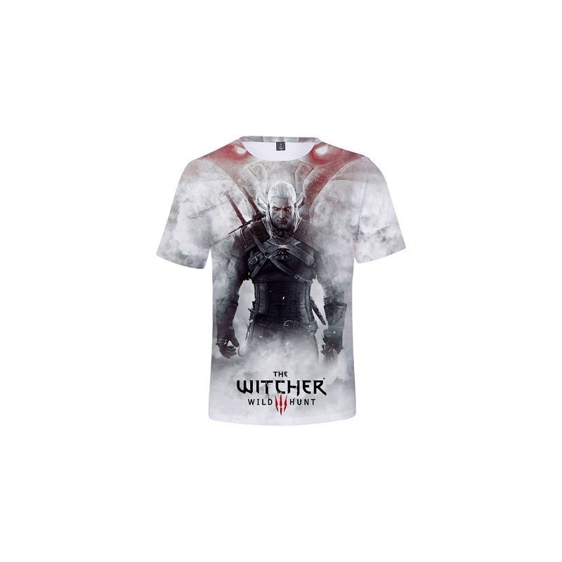 T-Shirt The Witcher Wild Hunt