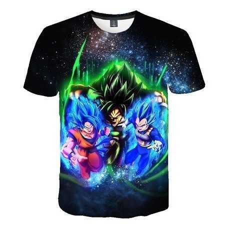 T-Shirt Dragon Ball Super Assaut des Saiyens