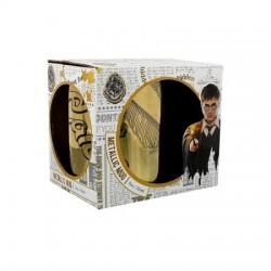 Mug Harry Potter Métallique Doré Vif D'or