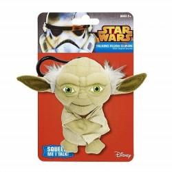 Star Wars porte-clés peluche sonore Yoda