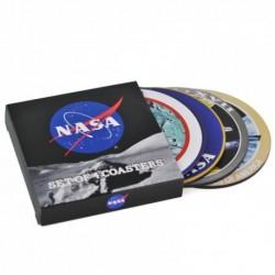 Lot 4 dessous de verres NASA
