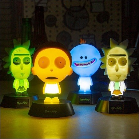 Lampe Icon Rick Morty M. Meeseeks