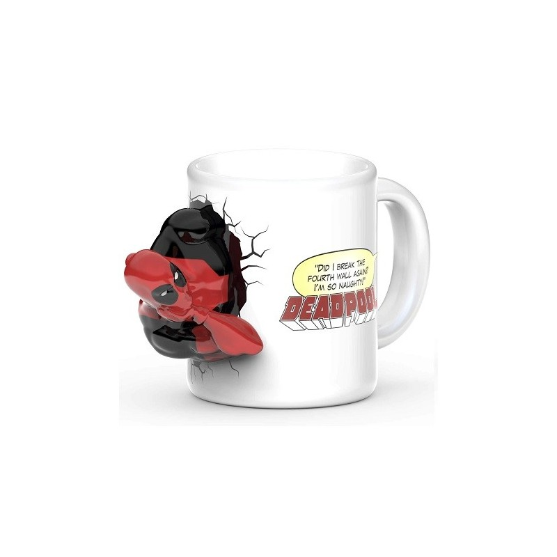 Mug 3D Deadpool BD