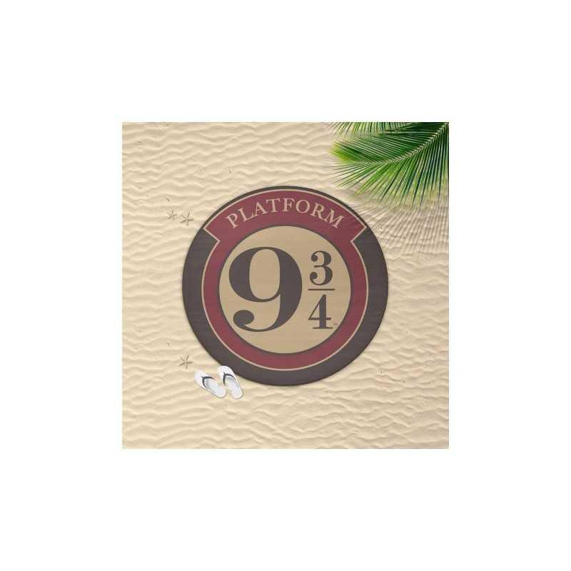 Serviette De Plage Ronde Harry Potter Voie Express 9 3/4